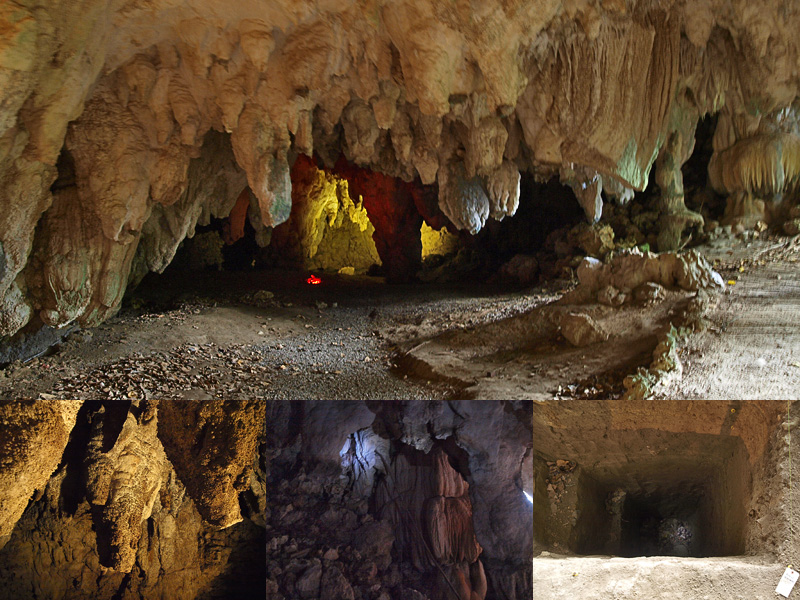 ガンガラーの谷の森9・武芸洞